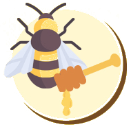 O mel é resultado do néctar que a abelha ingere e guarda em seu sistema...