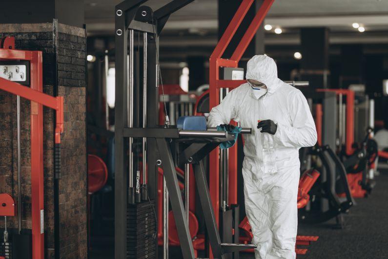 Sanitização para academias: proteja seus alunos do coronavírus - Rota Uniprag