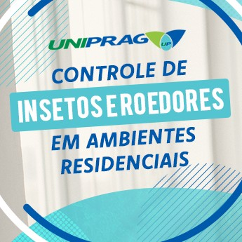 Controle de Insetos e Roedores em Ambientes Residenciais
